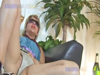 Two Young dogs Bang Pretty Mommy
