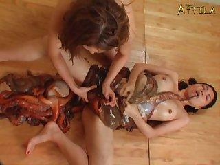 Genki Dgen005 Morale Lesbian Wriggles And Coming Octopus Wriggles 003